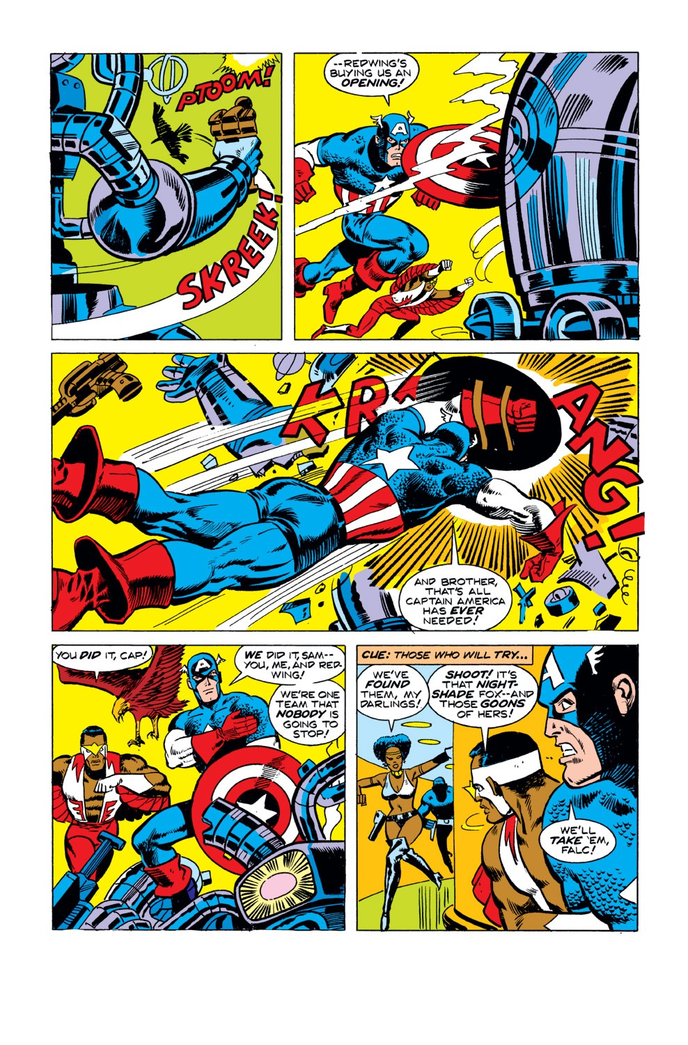 Captain America (1968) Issue #190 #104 - English 12