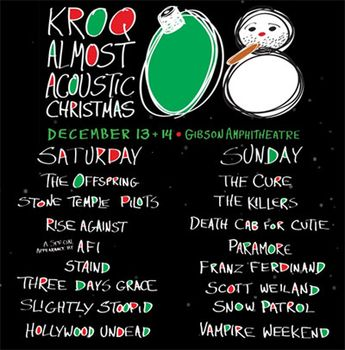 paramore live at kroq almost acoustic christmas gibson amphitheatre ca 12 14 2008 - Kroq Christmas