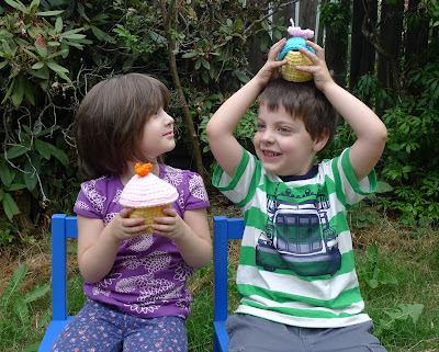 crochet cupcake kids