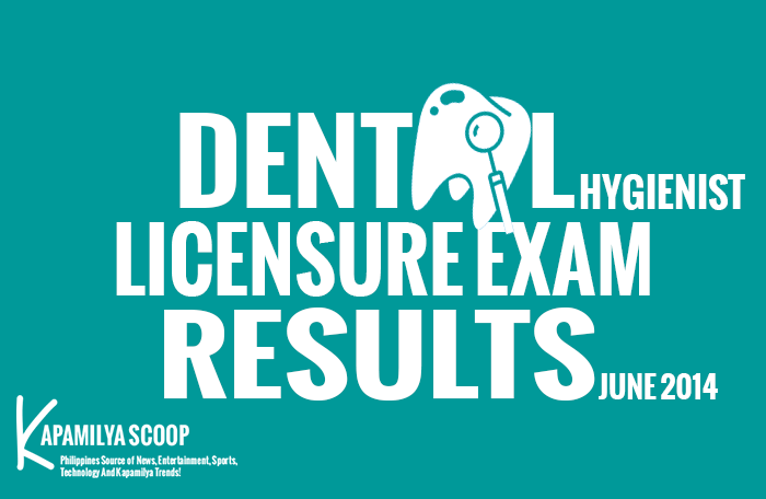 List of June Dental Hygienist Board Passers June 2014