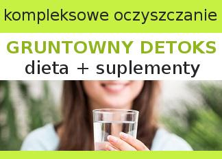 KURACJA kompleksowe oczyszczanie organizmu - dieta + suplementy