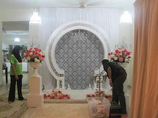 majlis perkahwinan Oya