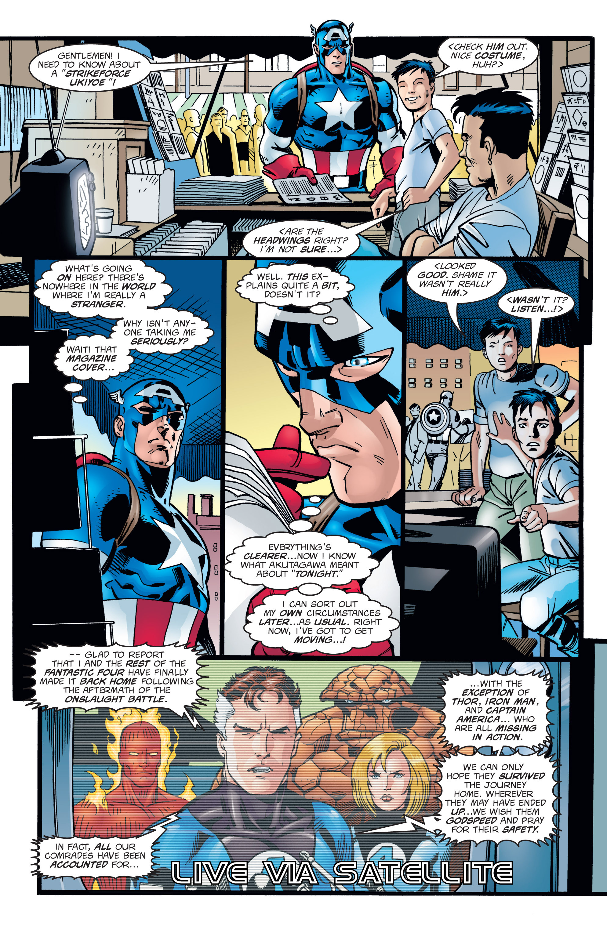 Captain America (1998) Issue #1 #4 - English 12