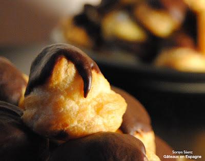choux a la creme chantilly chocolat recette facile pate a choux profiteroles
