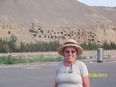 grottes de Dunhuang partie non visitée