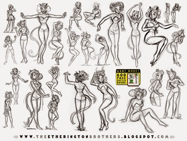 http://studioblinktwice.deviantart.com/art/Female-Character-Pose-and-Gesture-Sheet-2-533838589