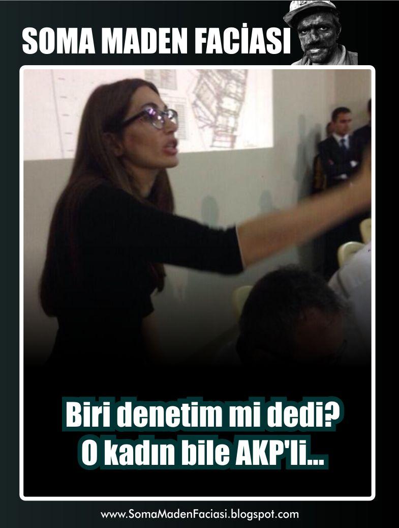 Biri denetim mi dedi? O kadın bile AKP'li...