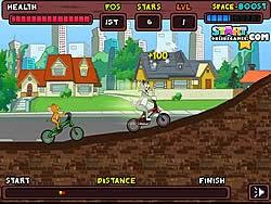 Jerry đua xe BMX, game dua xe