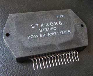 STK2038, Stereo Audio Power Amplifier, Sanyo Brand New!!