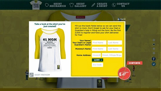 Shirt Size Option