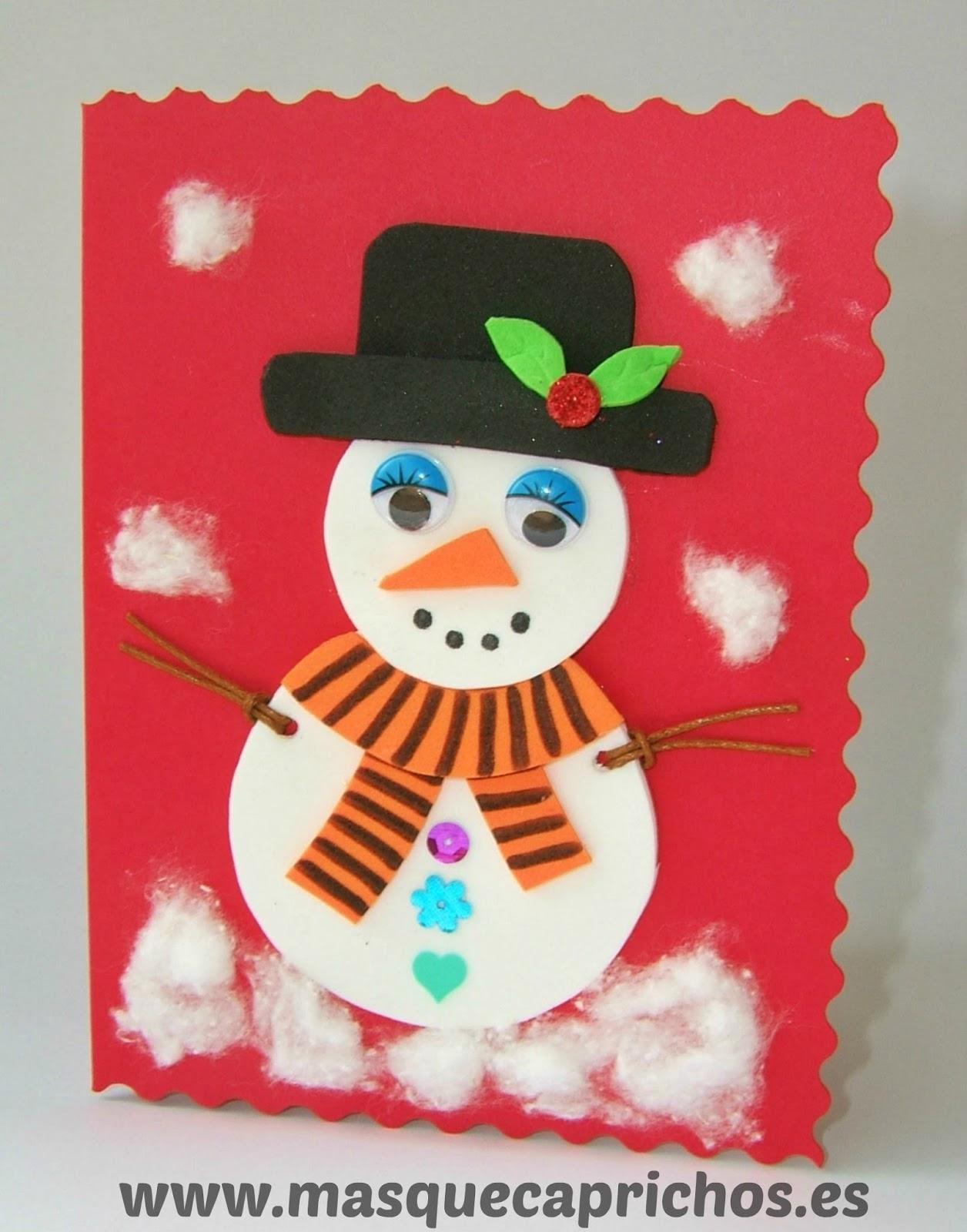 Especial navidad for Figuras de nieve navidenas