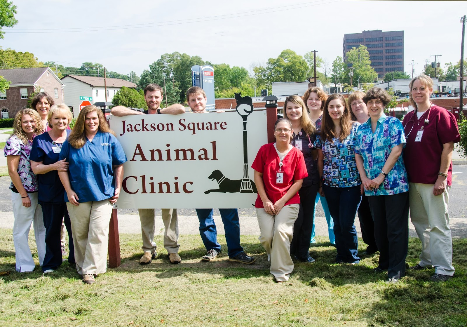 Jackson Sq. Animal Clinic staff photo
