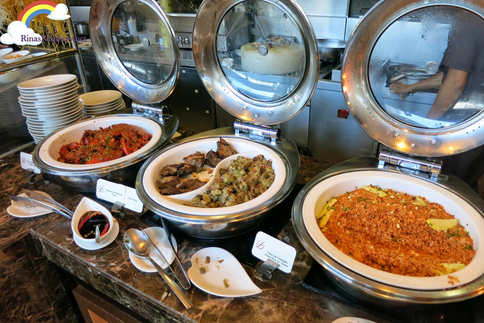 f1 hotel buffet