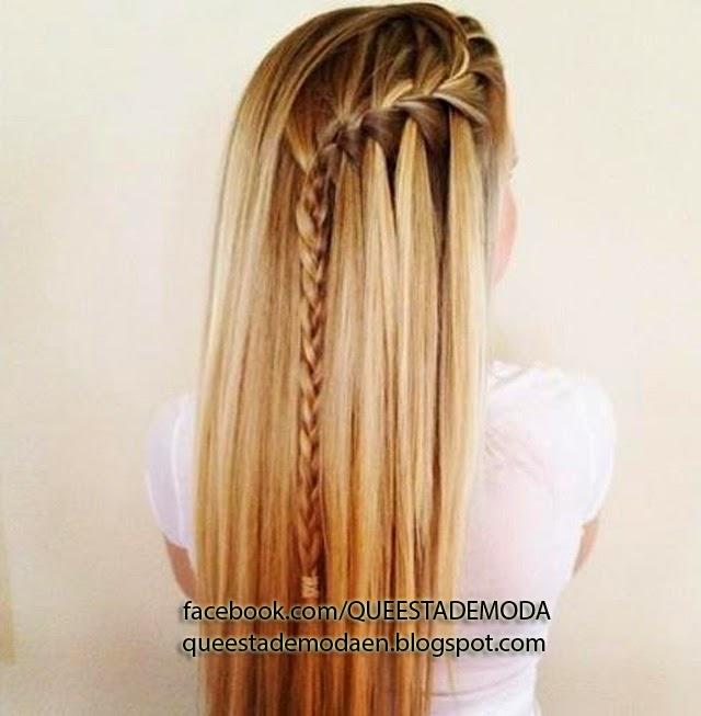 trenzas sencillas para el cabello