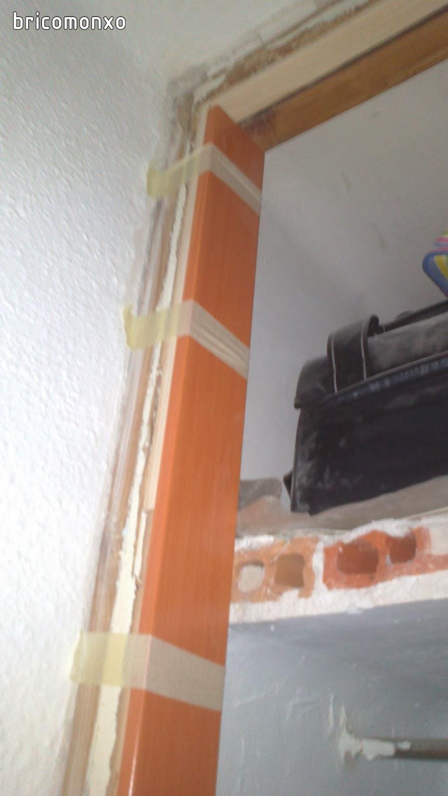 Bricomonxo armario empotrado con puertas correderas - Guias puertas correderas armarios empotrados ...