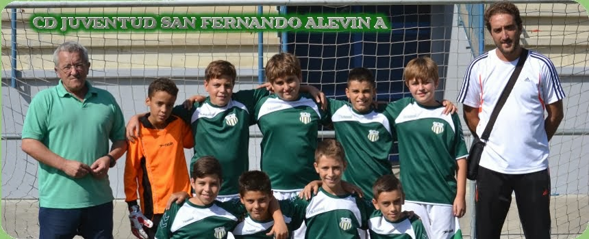"Alevín A ""Club Deportivo Juventud San Fernando"""