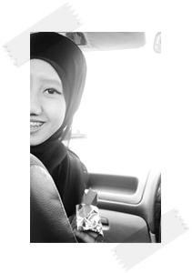 hitam putih ♥ izzatul