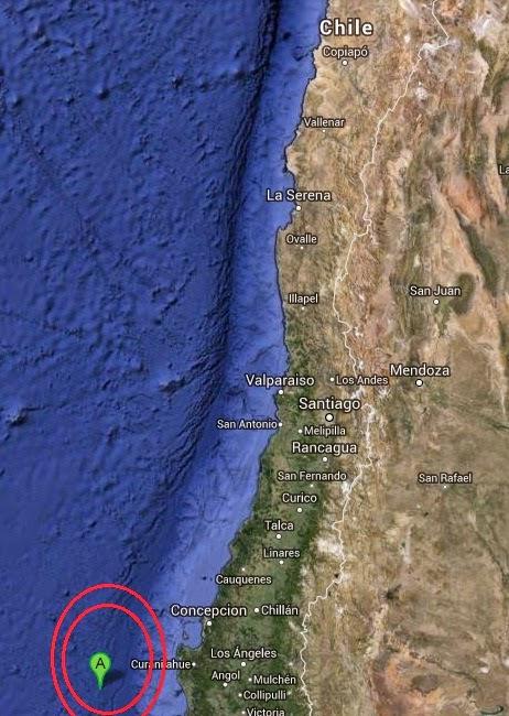 Magnitude 4.7 Earthquake of Lebu, Chile 2014-09-10