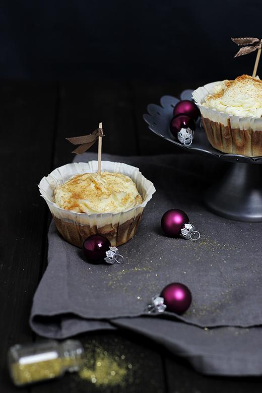 Spekulatiuscupcakes Weihnachtsbäckerei Advent Rezept Holunderweg18