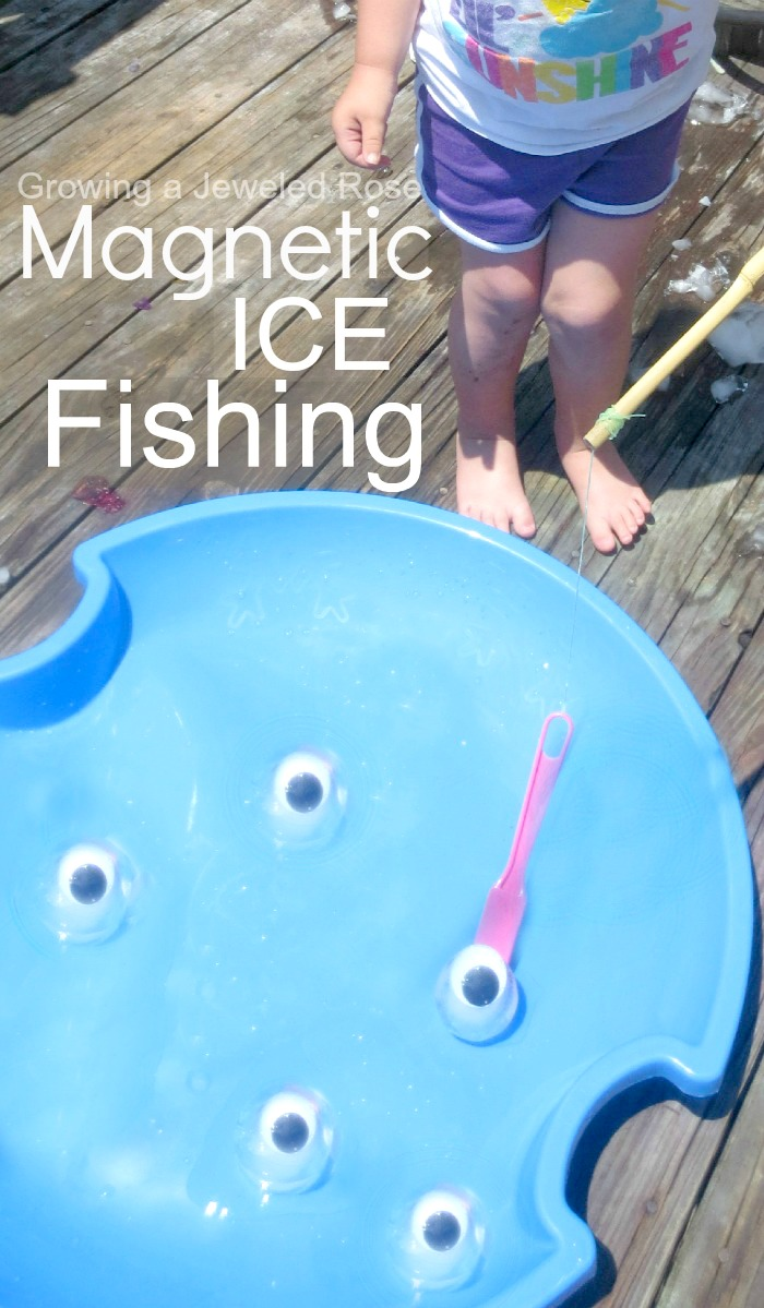 Summer fun ice fishing game growing a jeweled rose for Ice fishing games free
