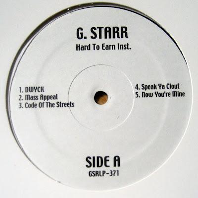 Gang Starr – Hard To Earn (Instrumentals) (Vinyl) (1994) (320 kbps)