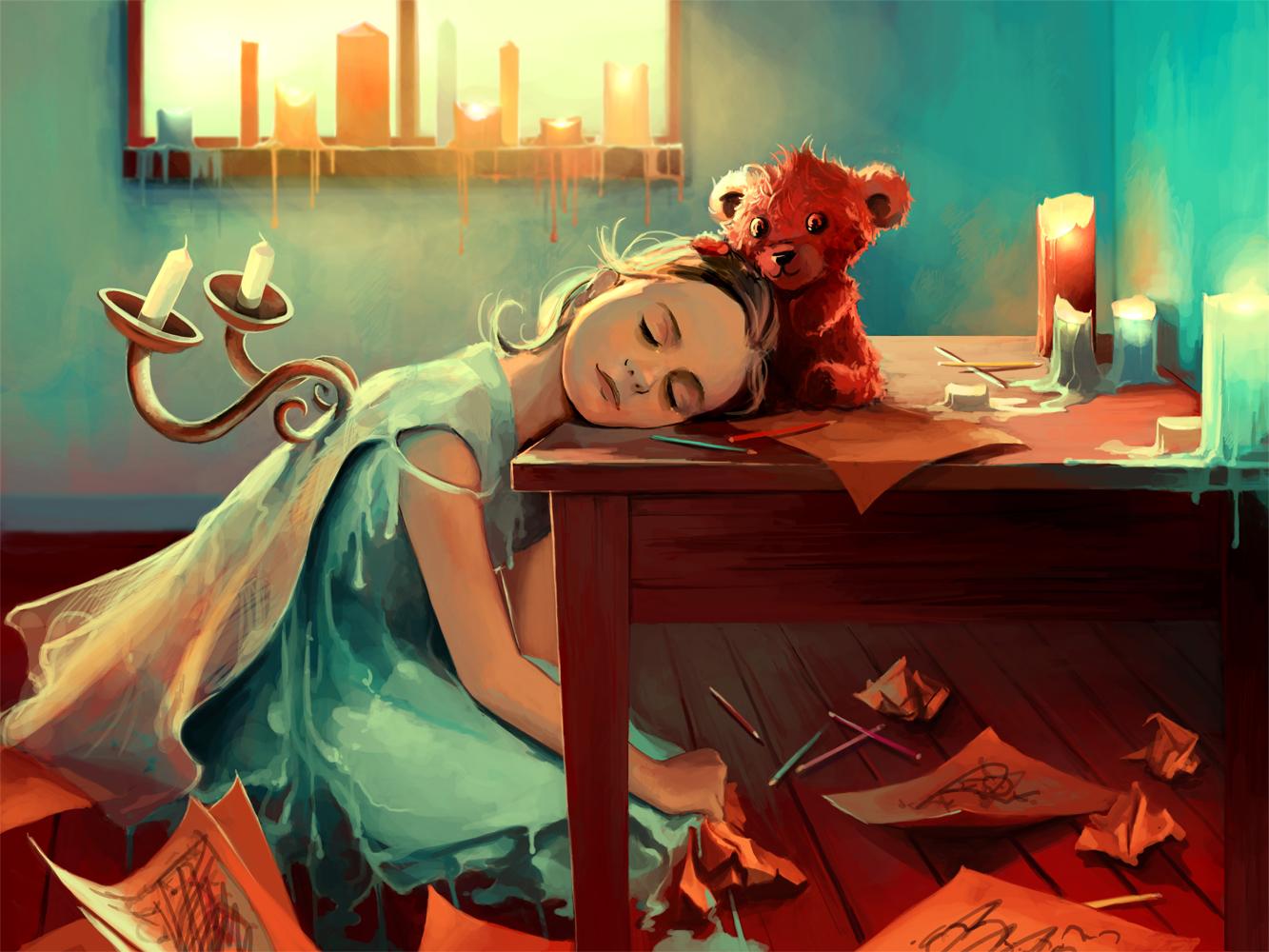 ©Cyril Rolando - Paint Me My Dreams