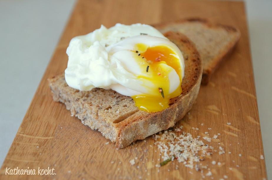 You live you learn oder eier pochieren katharina kocht - Eier platzen beim kochen ...