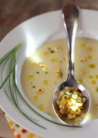 Sopa Cremosa de Milho (vegana)