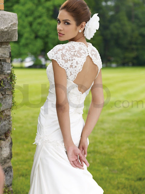 Bridal wedding dresses open back wedding dresses for T back wedding dress