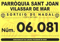 LOTERIA DE NADAL DE LA PARRÒQUIA