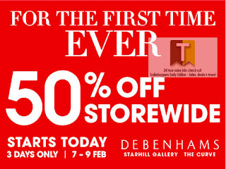 DEBENHAMS Storewide Sale 2013