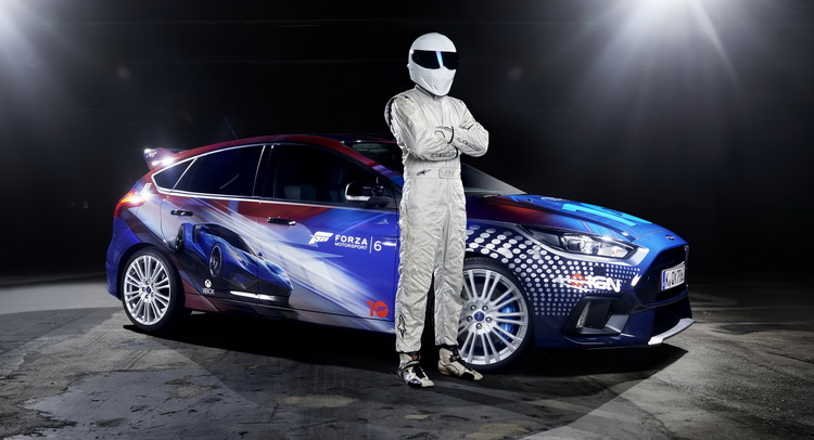 Custom Wrapped Focus Rs Driven By Stig Is Ford S Way To