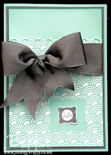 Pretty Petites Bow Card by Stampin' Up! Demonstrator Bekka Prideaux - contact her to find out how you can get these stamps and papers for free until 22 March 2013