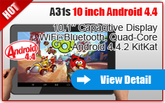 10'' ANDROID 4.4.2 KITKAT TABLET