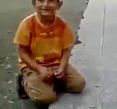 Little Boy First Bomb Experiment