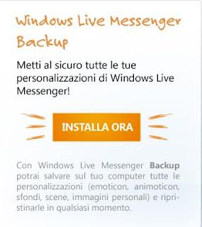 backup MSN