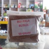 obat tradisional herbal biji pala bubuk