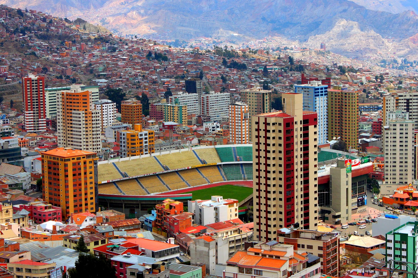 28 ciudades maravillosas taringa for Casas minimalistas la paz bolivia