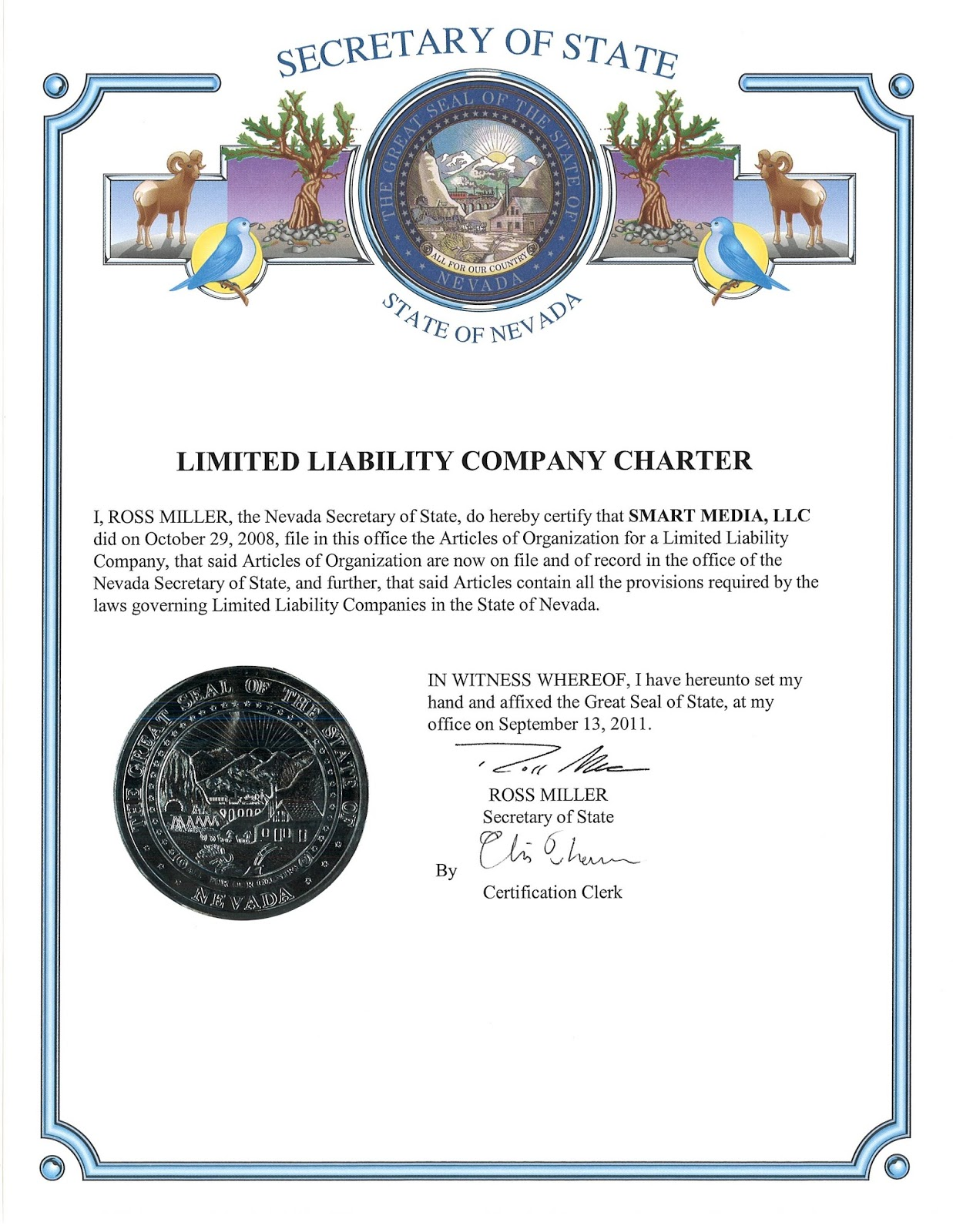 Yobsn Consulting Certificate Of Incorporation