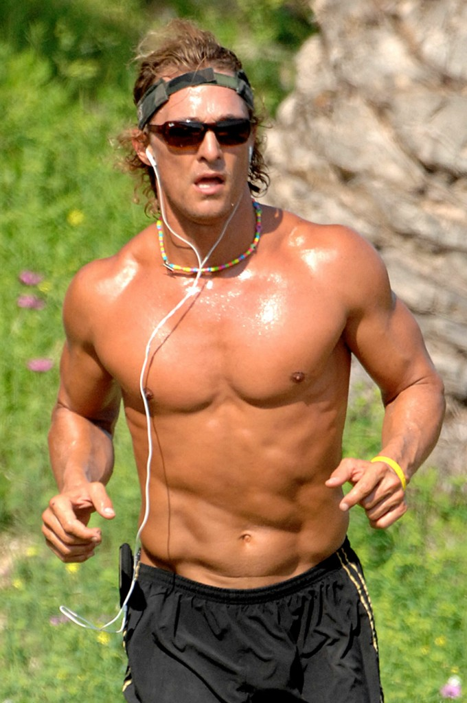 Matthew McConaughey: Raw, Celebrity Macho
