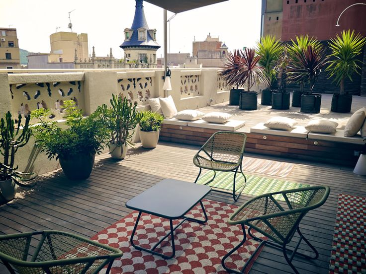 Kapataz ideas tools for building renueva tu terraza o for Mobiliario terraza pequena