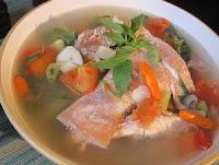 Resep Seafood: Ikan Kuah Asam