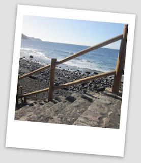 Beach at Franceses, Garafia, La Palma