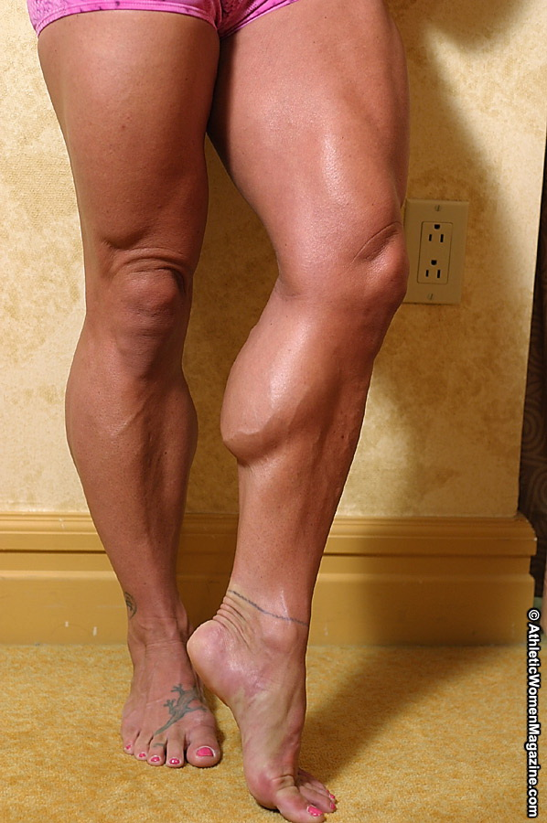 Muscular Calves Women 94