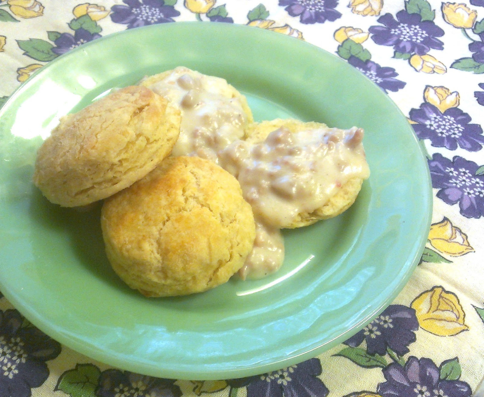 how to make biscuits without milk or baking powder