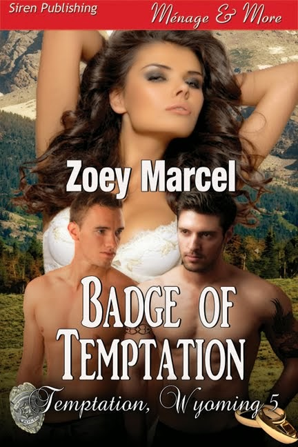 Badge of Temptation (Temptation, Wyoming 5)