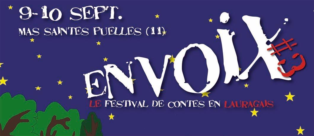 ENVOIX festival de contes en Lauragais