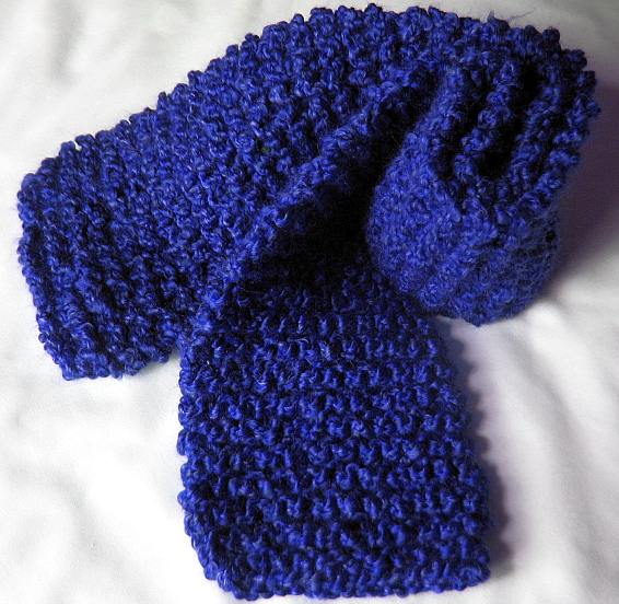 Knitting Garter Stitch Scarf : Knitting galore beginers part cast off and