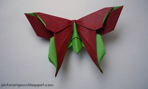 Origami Butterfly by Michael LaFosse