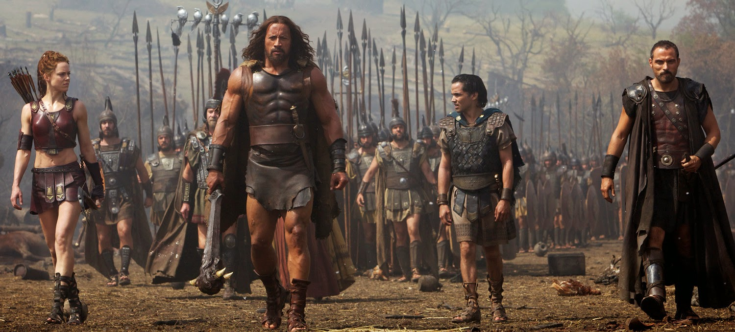 Hercules - Dwayne Johnson & Ingrid Bolsø Berdal & Reece Ritchie & Rufus Sewell | A Constantly Racing Mind